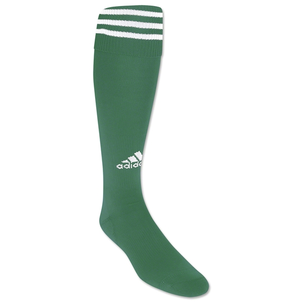 adidas Copa Zone Cushion Socks (Green/Wht)