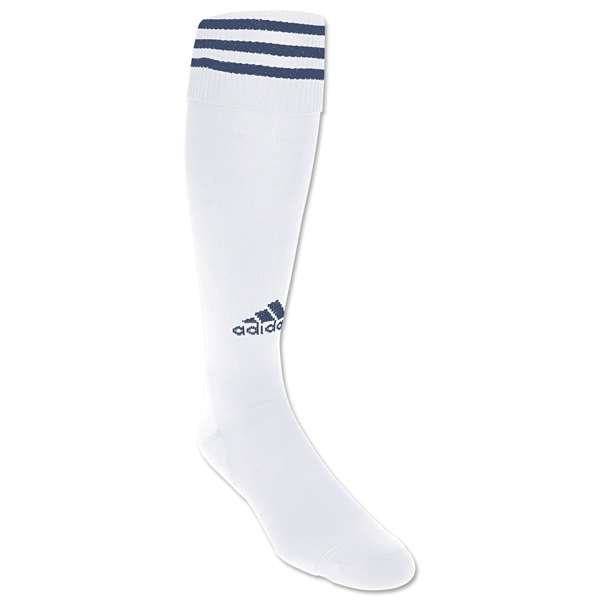 adidas Copa Zone Cushion Socks (Wh/Nv)