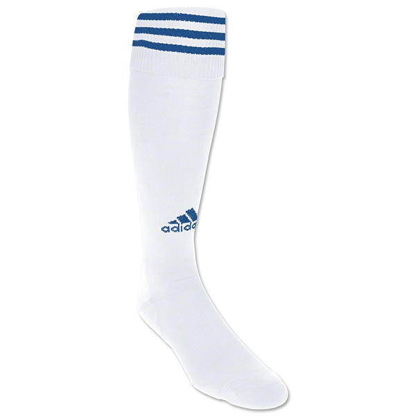 adidas Copa Zone Cushion Socks (Wh/Ro)