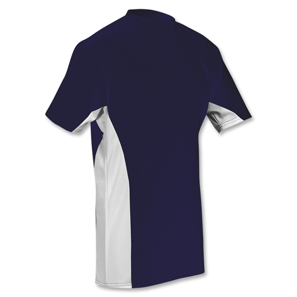 Power-Tek Pieced Shooter T-Shirt (Navy/White)