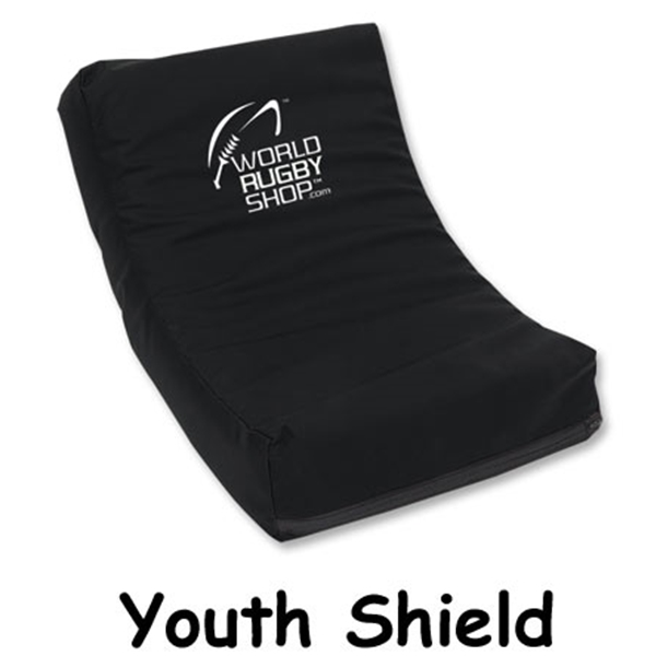 Youth Rugby Shield (Black)