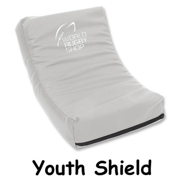 Youth Rugby Shield (Gray)