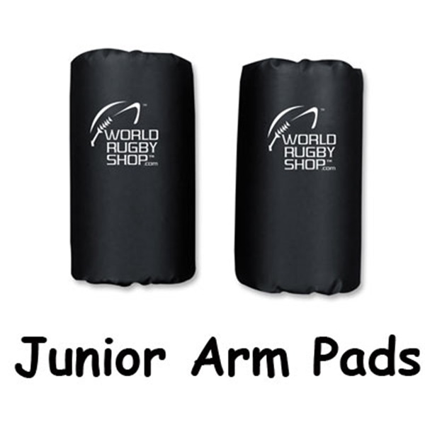 Junior Rugby Arm Pads (Black)