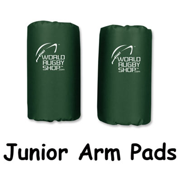 Junior Rugby Arm Pads (Dark Green)