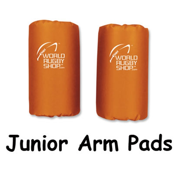 Junior Rugby Arm Pads (Orange)