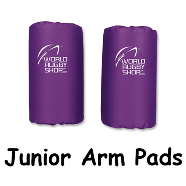 Junior Rugby Arm Pads (Purple)