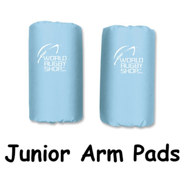 Junior Rugby Arm Pads (Sky)