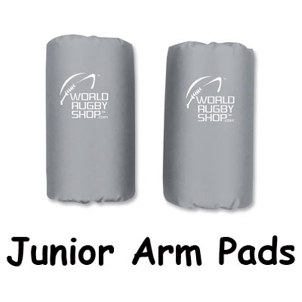 Junior Rugby Arm Pads (Gray)