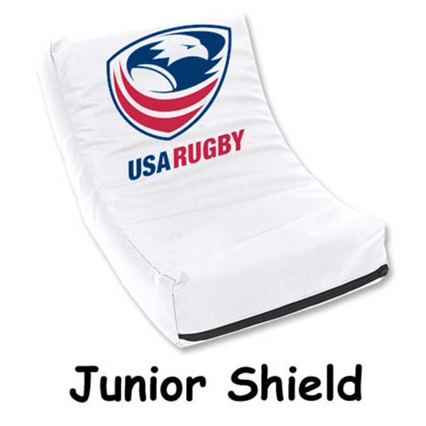 USA Rugby Youth Rugby Shield (White)
