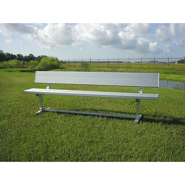 Pevo 21' Team Bench with Back