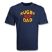 Rugby Dad Supporter SS T-Shirt (Navy)