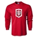 Indiana University Rugby LS T-Shirt (Red)