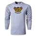 Coconut Cohort Alternative Rugby Commentary LS T-Shirt (Gray)