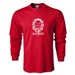Village Lions Rugby LS T-Shirt (Red)