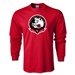 Portland Rugby Long Sleeve T-Shirt (Red)