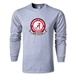 University of Alabama Rugby LS T-Shirt (Gray)