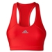 adidas Women's Techfit Solid Bra (Red/Silver)