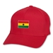 Ghana Flex Fit Cap (Red)