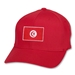 Tunisia Flex Fit Cap (Red)