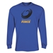 Western Force LS Supporter T-Shirt (Royal)