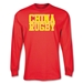 China Supporter LS Rugby T-Shirt (Red)
