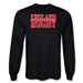 England Supporter LS Rugby T-Shirt (Black)