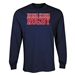 Hong Kong Supporter LS Rugby T-Shirt (Navy)