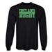 Ireland Supporter LS Rugby T-Shirt (Black)