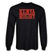 Kenya Supporter LS Rugby T-Shirt (Black)