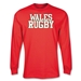 Wales Rugby Supporter LS T-Shirt (Red)