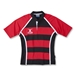 Gilbert Xact Hooped Rugby Jersey (Red/Black)