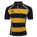 Gilbert Xact Hooped Rugby Jersey (Yellow/Black)