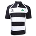 Shamrock Xact Hooped Rugby Jersey (Black/White)