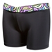 Svforza Women's Short with Squiggly Print Waistband (Multi)