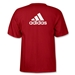 adidas Logo T-Shirt (Red)