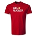 All Star Rugger Youth T-Shirt (Red)
