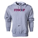 Nike StandUp Purple Logo Core Hoody (Gray)