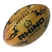Rhino Vintage Leather Rugby Ball