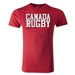 Canada Supporter Rugby T-Shirt (Heather Red)