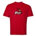 University of Louisville Rugby Performance T-Shirt (Red)