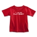 Cool Kids Play Rugby Toddler T-Shirt (Red)