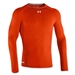 Under Armour Heatgear Sonic Compression LS T-Shirt (Orange)