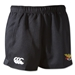 Old White Rugby Advantage Shorts (Black)