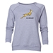 South Africa Springboks Women's Crewneck Fleece (Gray)