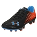 Under Armour Blur CBN IV FG (Black/Blaze Orange/Electric Blue)