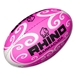 Rhino Pink Barracuda Beach Rugby Ball (size 4)