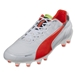 PUMA evoSpeed 1.2 FG (White/Fluro Peach)