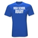 High School Rugby T-Shirt (Royal)