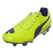 Puma evoPower 3 FG Junior (Fluro Yellow/Prism Violet/Scuba Blue)