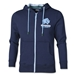 Rhino Youth Varsity Zip Thru Hoody (Navy)